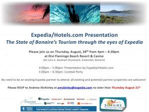 Expedia Invitation